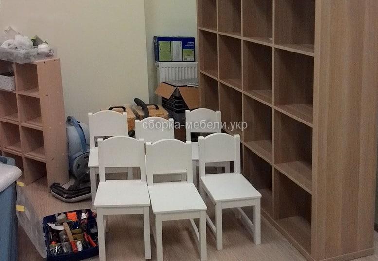 сборка мебели для детского садика
