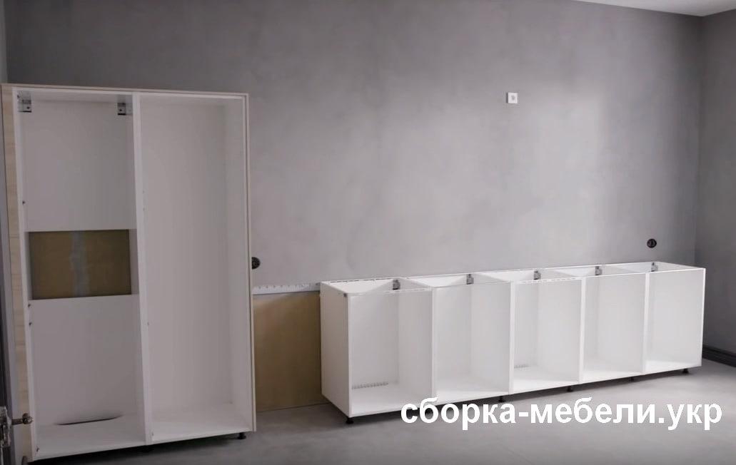 услуги сборки кухни киевская область