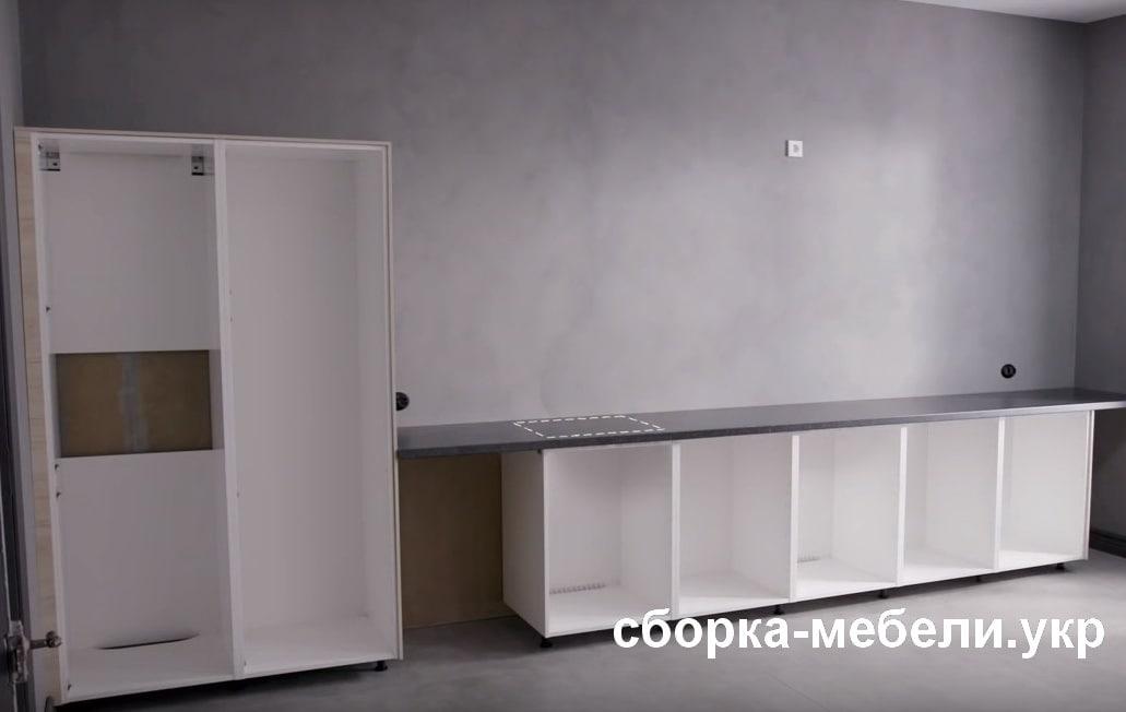 как собрать кухню Икеа