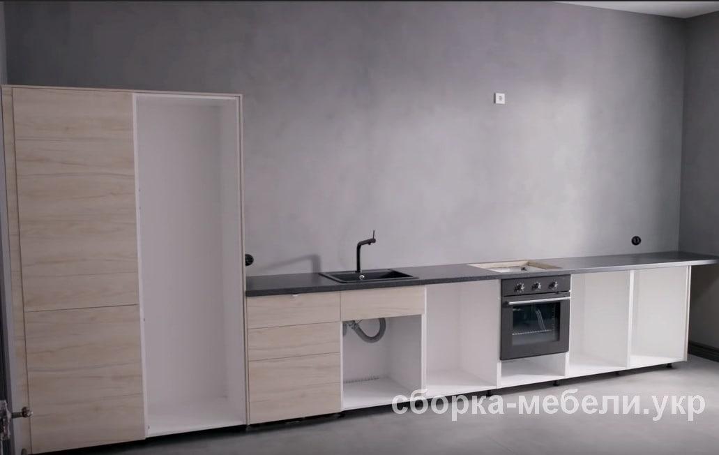 сборка кухонной мебели Ikea в Киеве