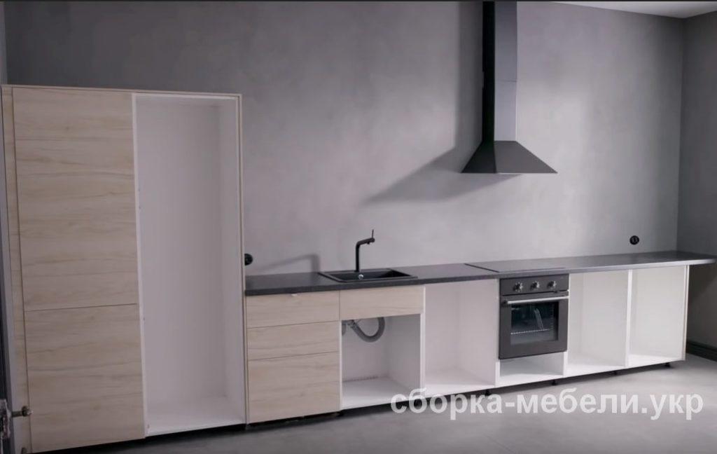 сборка кухонной мебели Ikea Нивки БУча