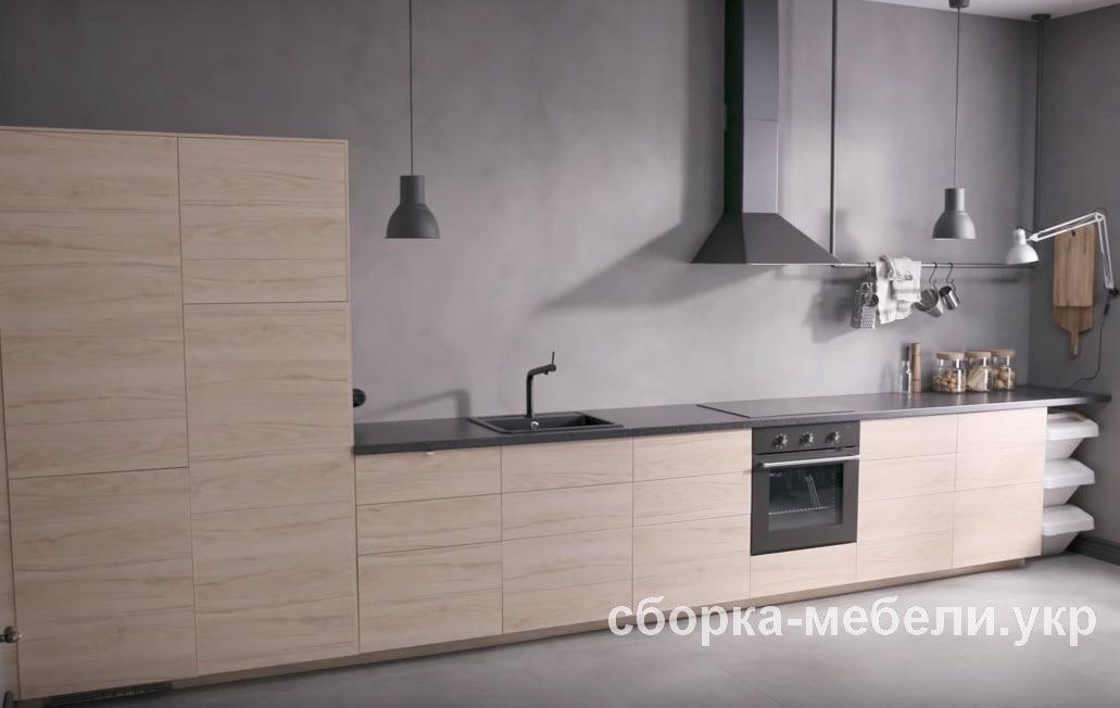 монтаж кухни Икеа