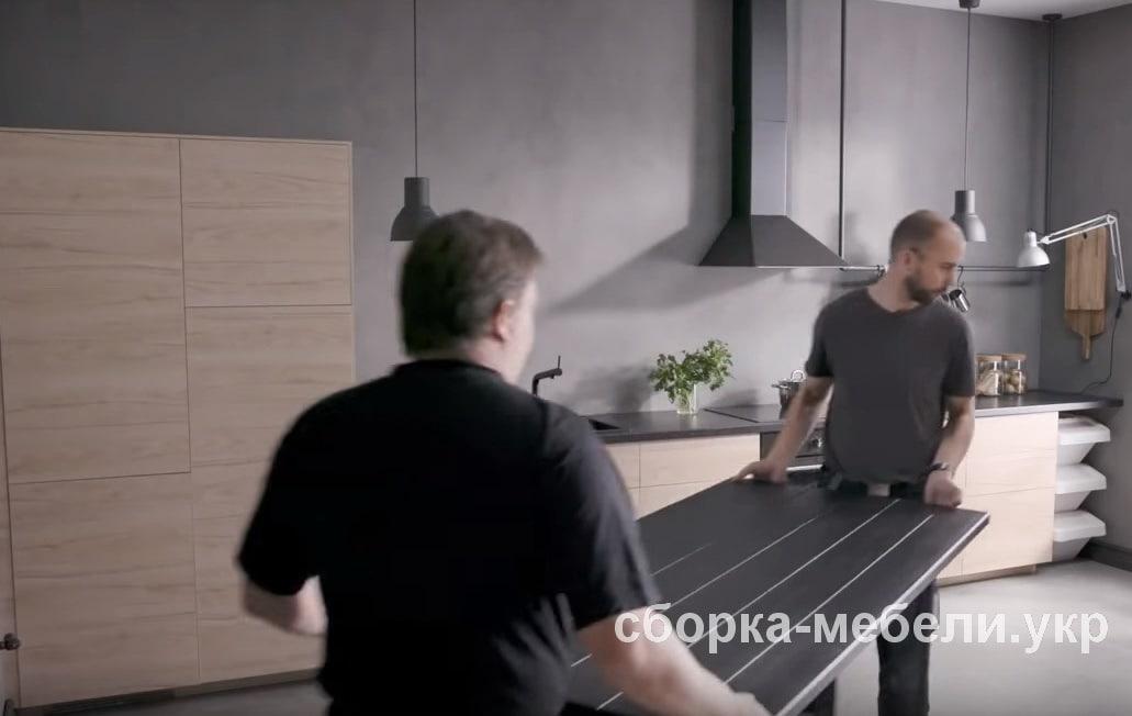 стоимость сборки кухни Киев