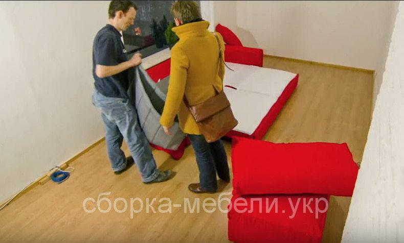 услуги сборки мягкой мебели Киев