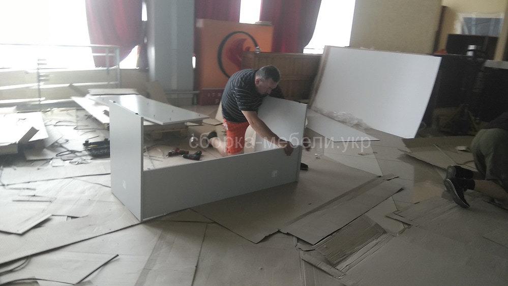 сборка офисной мебели по безналичному расчету в Киеве