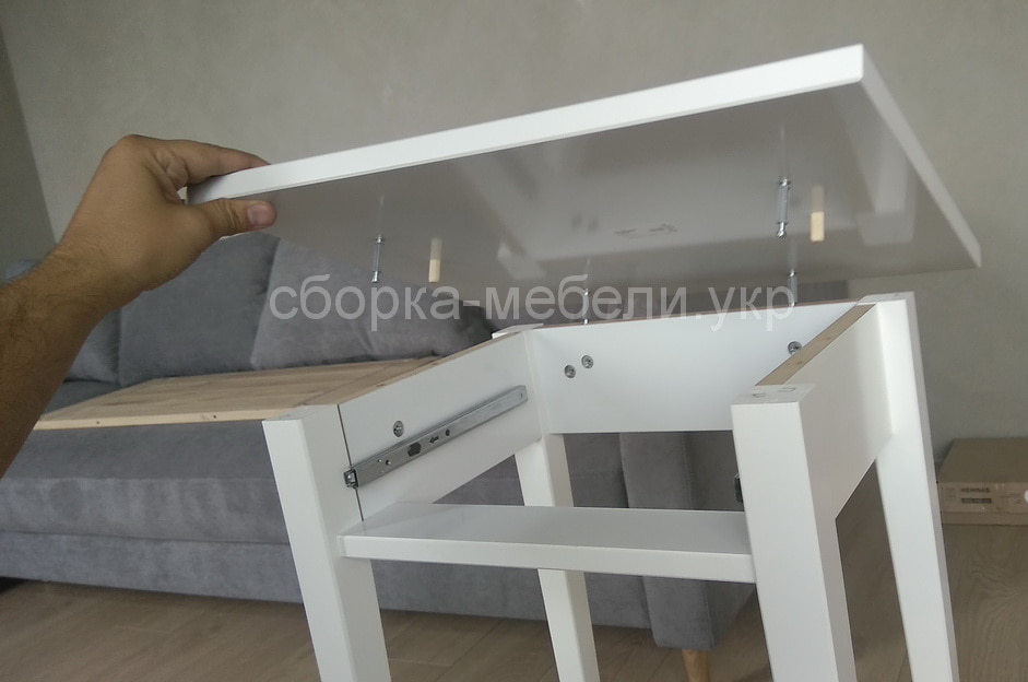 Сборка столика Икеа