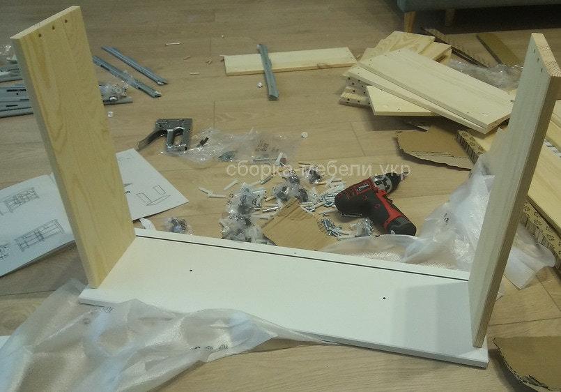 сборка комода IKEA Подол